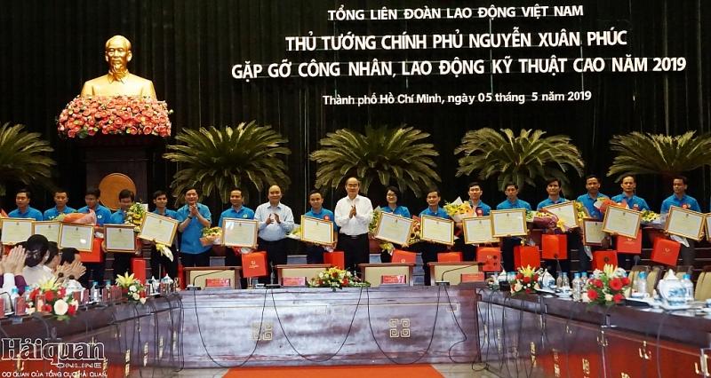 thu tuong chinh phu gap go cong nhan lao dong ky thuat cao nam 2019
