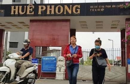 Công ty Huê Phong tiếp tục cắt giảm gần 1.600 lao động