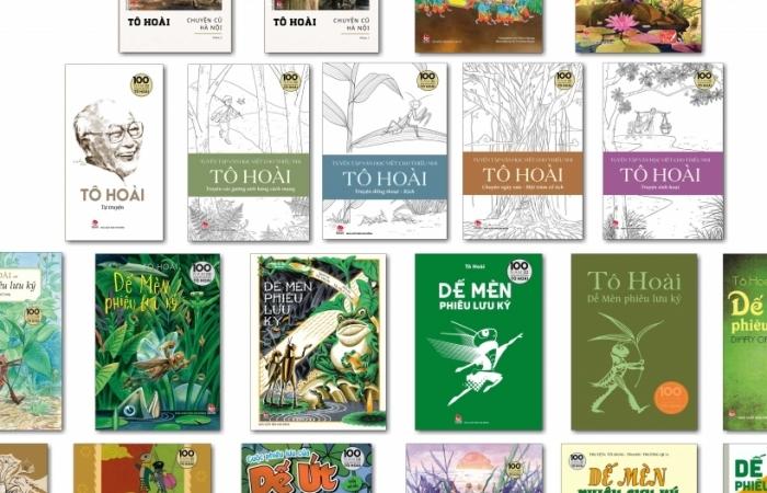 Nhiều ấn phẩm đặc biệt kỷ niệm 100 năm ngày sinh nhà văn Tô Hoài