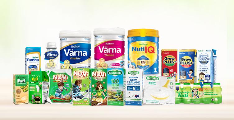 Hơn 18 sản phẩm sữa thiết yếu được Nutifood giảm giá từ 25% đến 50% trong chương trình.