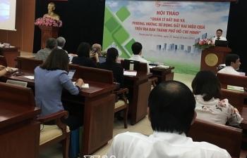 Nhiều thách thức trong quản lý đất đai trên địa bàn TPHCM