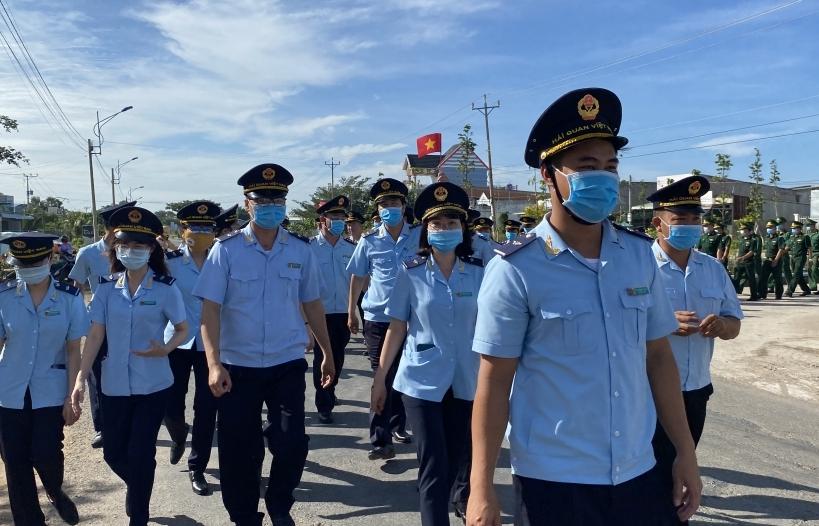 Ngành Hải quan tuyên tuyền về phòng chống ma túy tại cửa khẩu Bình Hiệp