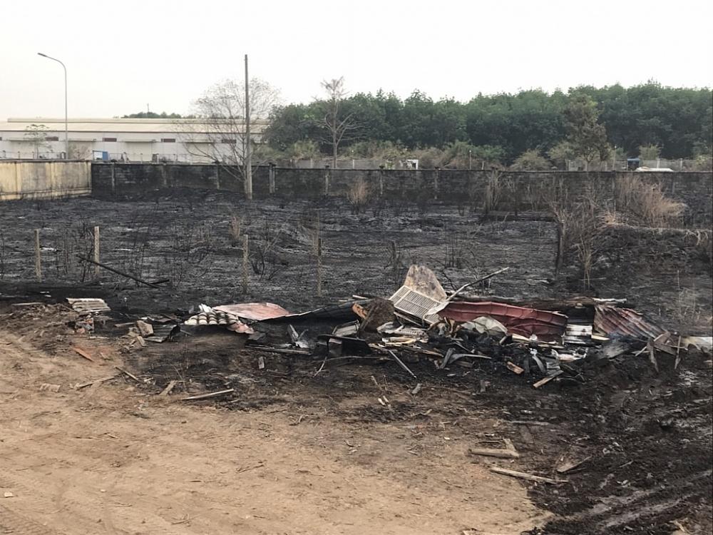 Không có thiệt hại về người và tài sản trong vụ cháy tại cửa khẩu Hoàng Diệu