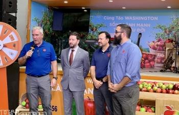 Việt Nam là thị trường xuất khẩu táo lớn thứ 5 của Mỹ
