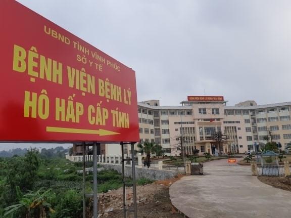 Vĩnh Phúc chính thức kích hoạt lại Bệnh viện dã chiến để đối phó với dịch Covid-19