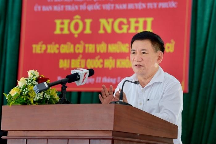 Bộ trưởng Hồ Đức Phớc: Nỗ lực huy động nguồn lực để Bình Định phát triển