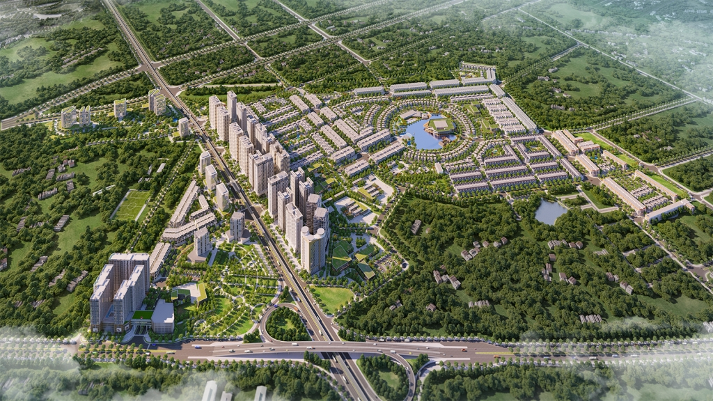 """Mục sở thị khu đô thị phía tây Hà Nội """"hút vốn"""" giới đầu tư"""