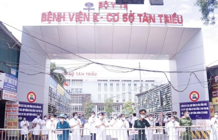 Bệnh viện K cơ sở Tân Triều chính thức hoạt động khám chữa bệnh trở lại