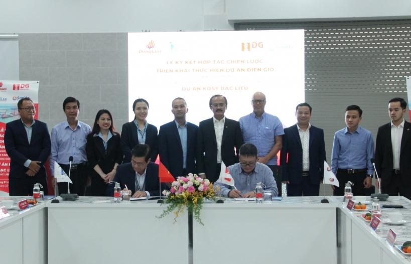 Cảng quốc tế Long An và Tập đoàn Đặng Gia hợp tác thực hiện dự án điện gió