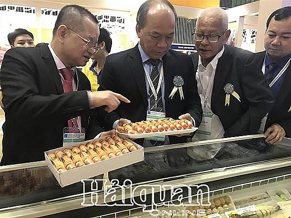 xuat khau tom sang dai loan kha on dinh
