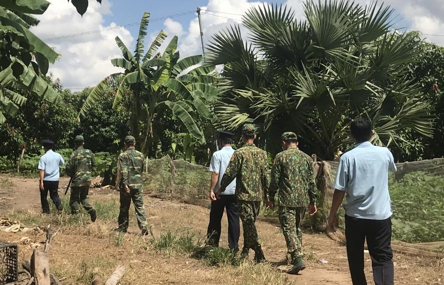 An Giang: Triển khai 8 chốt chống buôn lậu trên tuyến biên giới