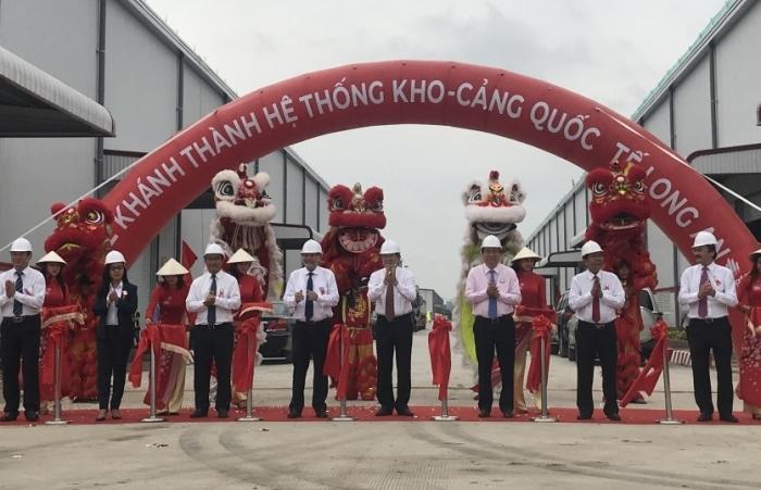 Khánh thành hệ thống kho - cảng Quốc tế Long An