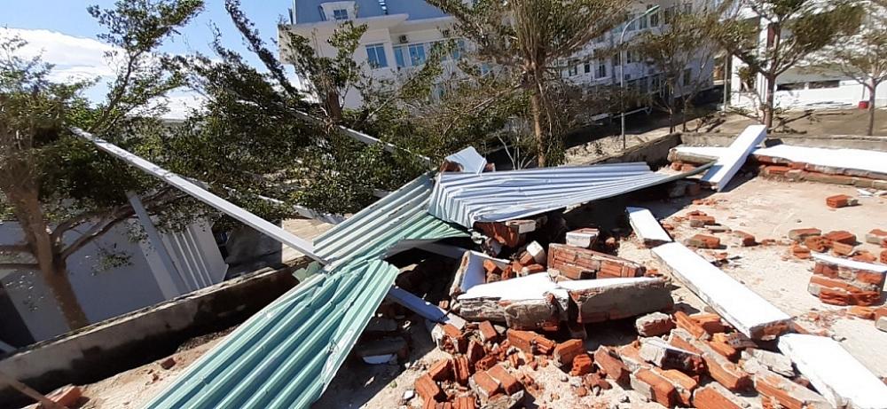 Hải quan miền Trung bị thiệt hại từ cơn bão số 9