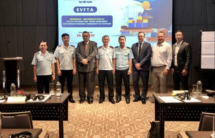Hải quan TPHCM hướng dẫn doanh nghiệp Phần Lan thực hiện EVFTA