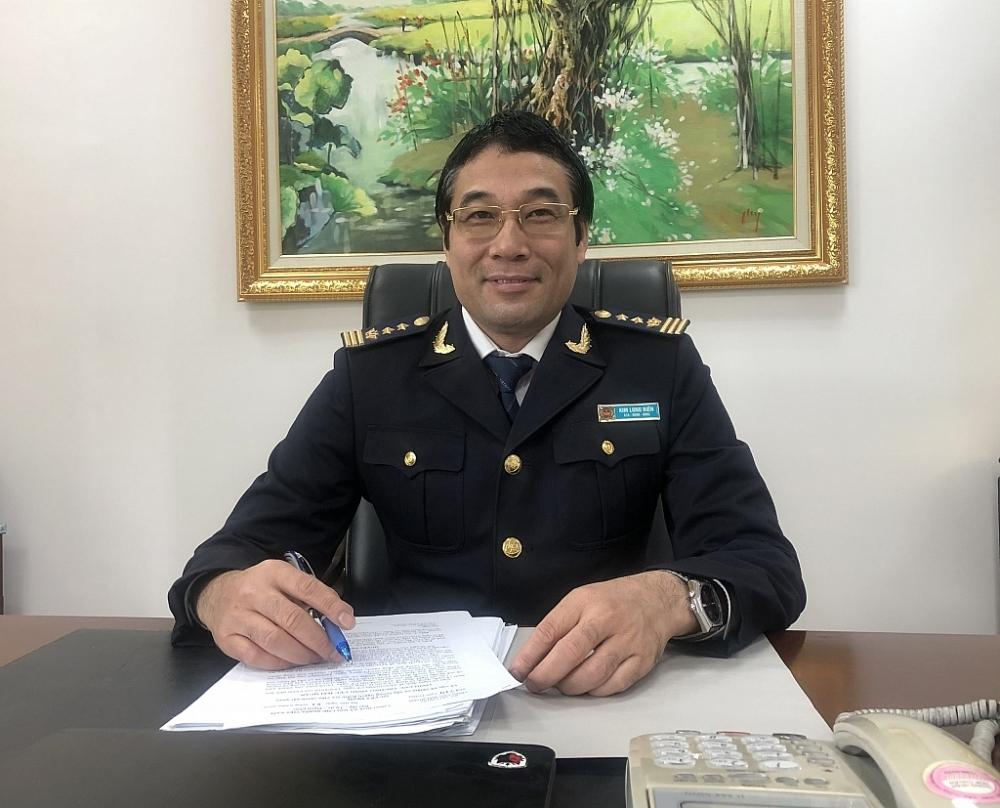 Ông Kim Long Biên, Vụ trưởng Vụ Pháp chế, Tổng cục Hải quan.