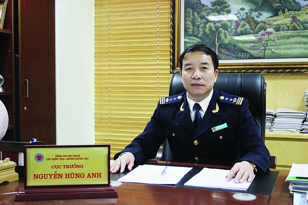 Cục trưởng Cục Điều tra chống buôn lậu (Tổng cục Hải quan) Nguyễn Hùng Anh.