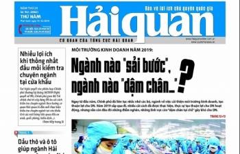 Những tin, bài hấp dẫn trên Báo Hải quan số 152 phát hành ngày 19/12/2019