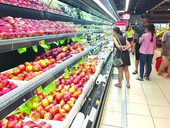 Trái cây nhập khẩu tăng nhanh, xuất khẩu đuối sức