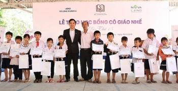 Tập đoàn Novaland: Trao 180 suất học bổng cho học sinh nghèo Đồng Tháp