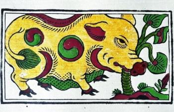 Hình tượng con lợn  trong tranh dân gian Việt Nam