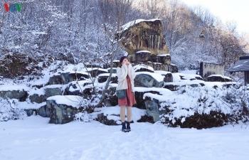 Ngày đông như trong cổ tích ở ngôi làng cổ xưa nhất nước Nhật
