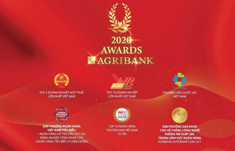 Agribank đạt nhiều giải thưởng quốc tế