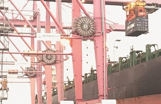 Hàng hóa thông qua cảng biển đang vào đà tăng