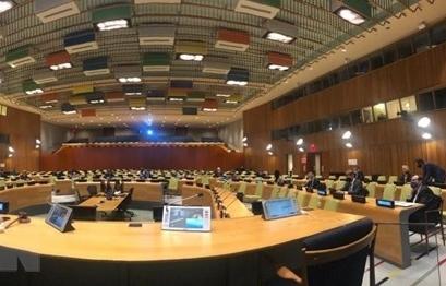 Hội đồng Bảo an lần thứ hai họp tại trụ sở ở New York trong năm 2021