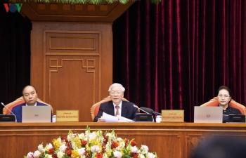 Toàn cảnh phiên khai mạc Hội nghị Trung ương 12, khóa XII