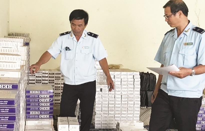 Hải quan Đồng Tháp bắt giữ hơn 4.000 bao thuốc lá lậu
