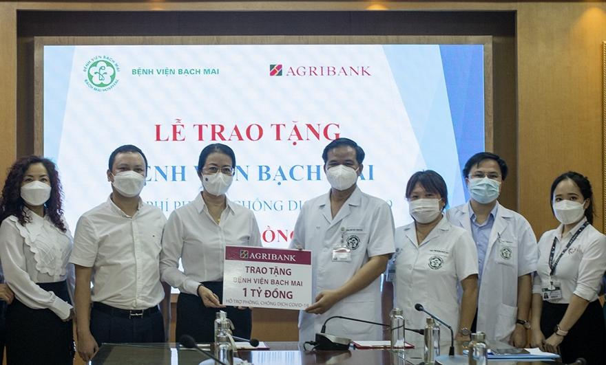 Agribank đã ủng hộ 300 tỷ đồng cho các hoạt động phòng, chống dịch Covid-19