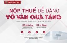 Nộp thuế qua Agribank được tặng ngay 100.000 đ