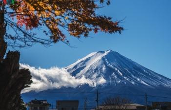 Ngày thu, sống như người Nhật dưới chân núi Phú Sĩ