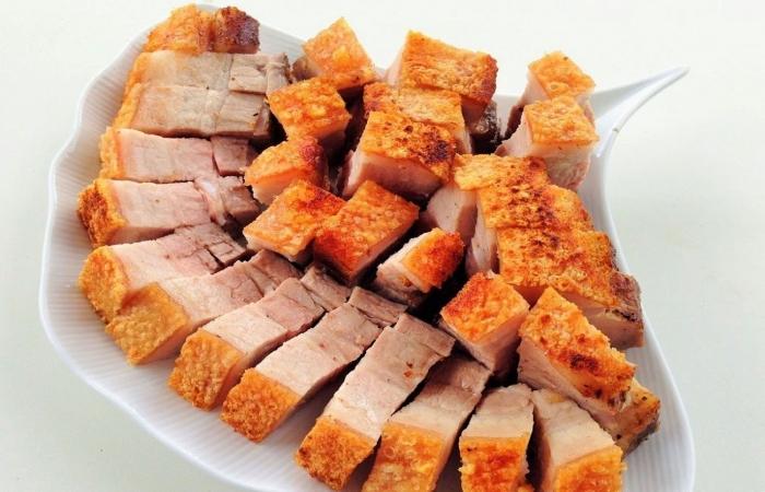 Độc đáo món lợn quay Lạng Sơn