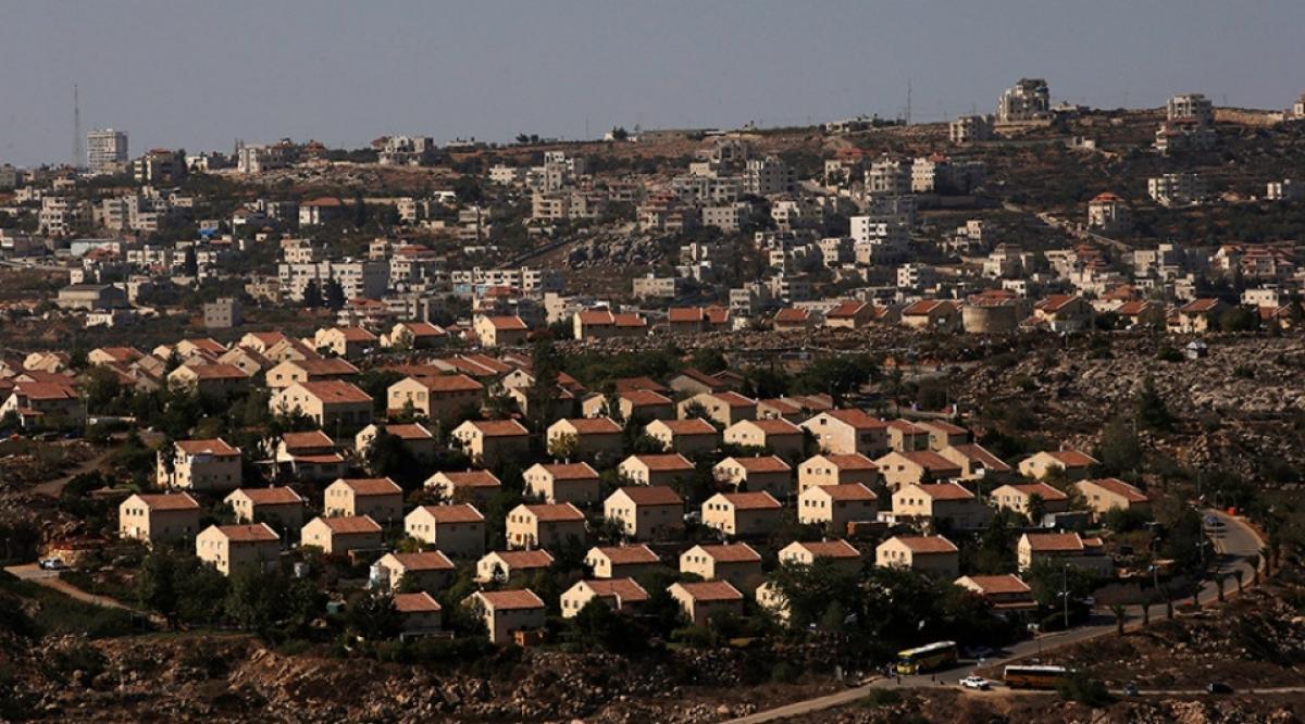 Khu định cư Do Thái ở Bờ Tây. Ảnh: Reuters.