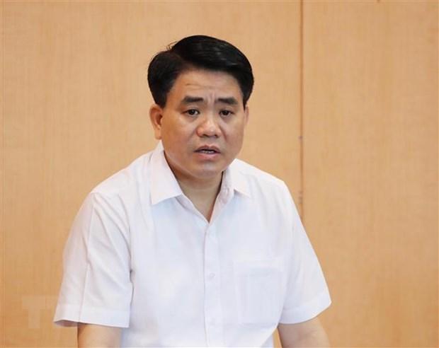 Xet xu kin vu an bi cao Nguyen Duc Chung chiem doat tai lieu mat hinh anh 1