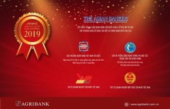 Agribank gặt hái nhiều giải thưởng uy tín trong năm 2019