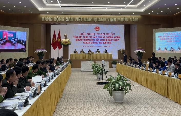 Sửa đổi, bổ sung các Ủy viên Ban Chỉ đạo 389 quốc gia
