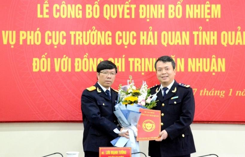 Bổ nhiệm Phó Cục trưởng Cục Hải quan Quảng Ninh