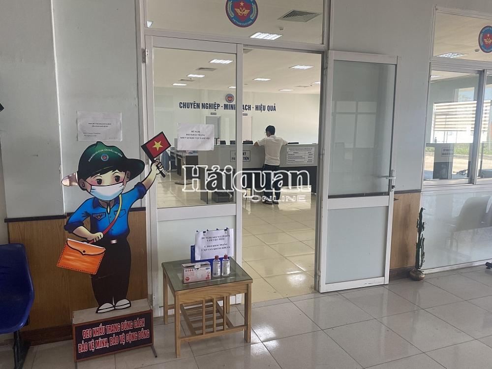 """Tạm dừng """"1 cửa, 1 lần dừng"""",  xuất nhập khẩu qua Lao Bảo diễn ra bình thường"""