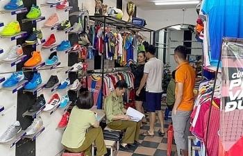 Hà Nội: Lại tạm giữ hơn 1.500 sản phẩm có dấu hiệu giả nhãn hiệu