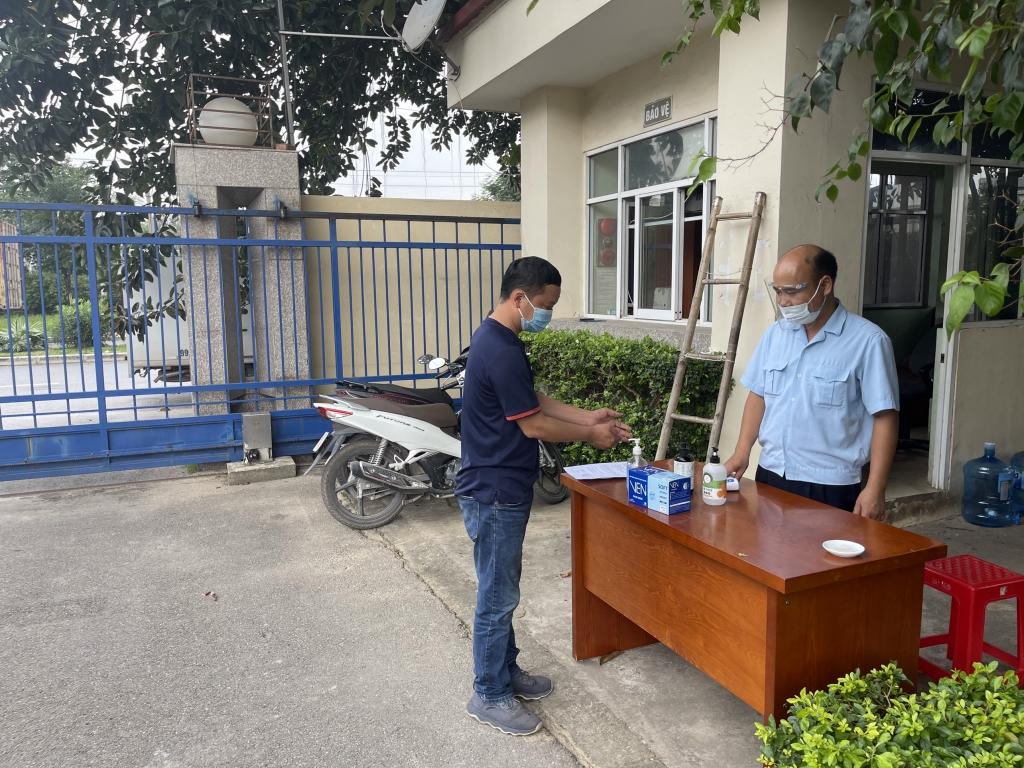Hải quan Bắc Giang thực hiện nghiêm công tác phòng, chống dịch