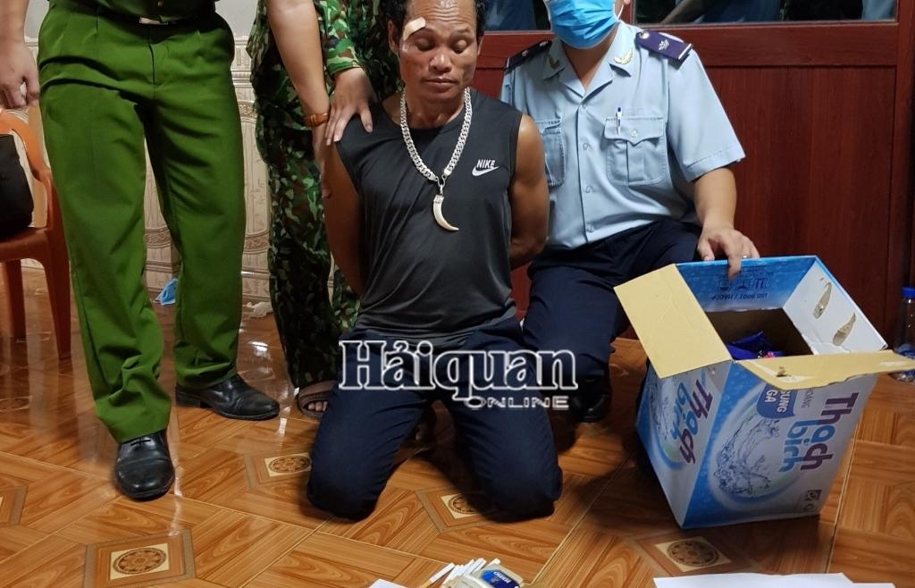 Hải quan Quảng Trị chủ trì phá thành công chuyên án bắt 6.000 viên ma túy tổng hợp