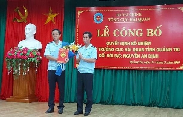 Hải quan Quảng Trị có thêm Phó Cục trưởng