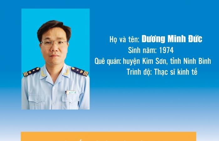 Infographics: Quá trình công tác của tân Phó Cục trưởng Cục Hải quan Bắc Ninh