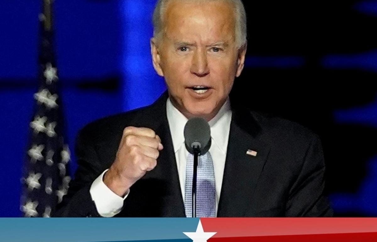 """Thông điệp hàn gắn để """"đưa nước Mỹ trở lại"""" sẽ xuyên suốt diễn văn nhậm chức của Joe Biden"""