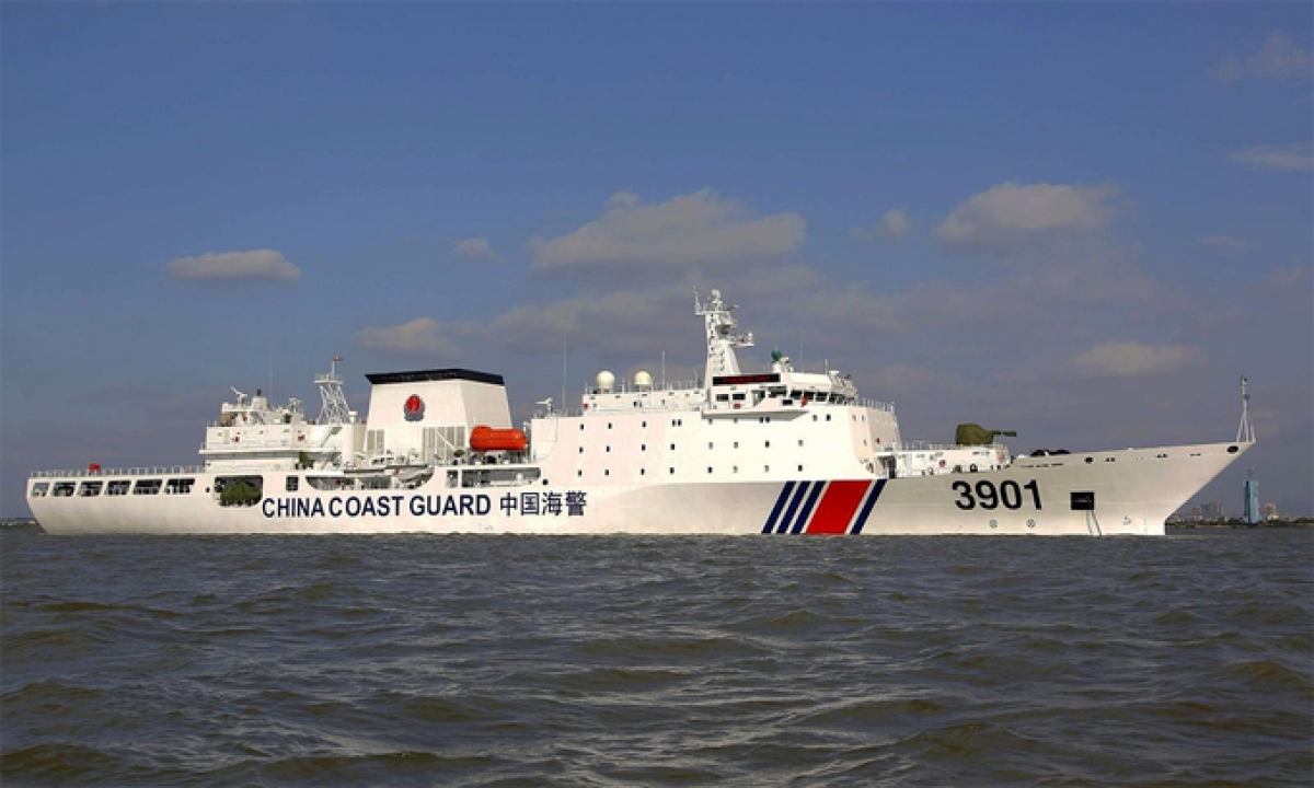 Tàu Hải cảnh 3901 của Trung Quốc. Ảnh: CGC.