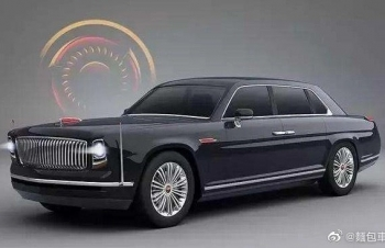 """""""Rolls-Royce Trung Quốc"""" - Hongqi L4 trang bị cửa mở Suicide nổi tiếng"""