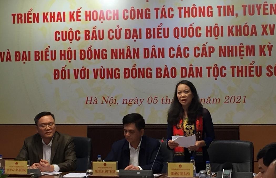 Bầu cử QH khóa XV: Đảm bảo tỷ lệ đại biểu vùng đồng bào dân tộc thiểu số