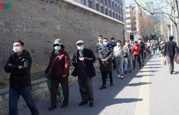 Các ca mắc mới Covid-19 có dấu hiệu tăng trở lại ở Trung Quốc